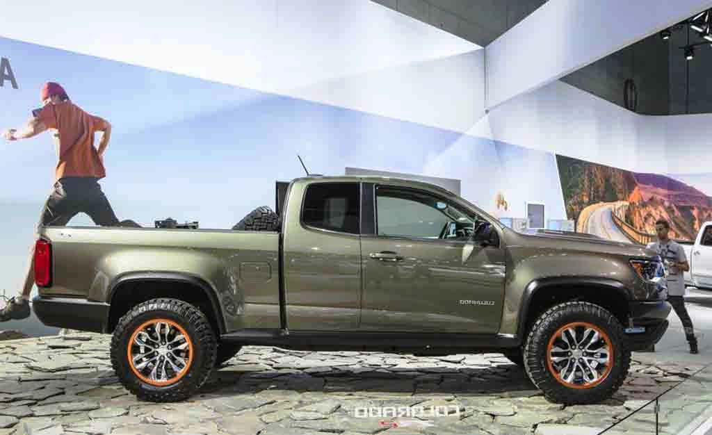 2018 Chevrolet Colorado Release Date