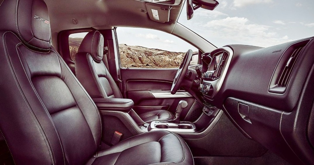 2018 Chevrolet Colorado Zr2 Interior