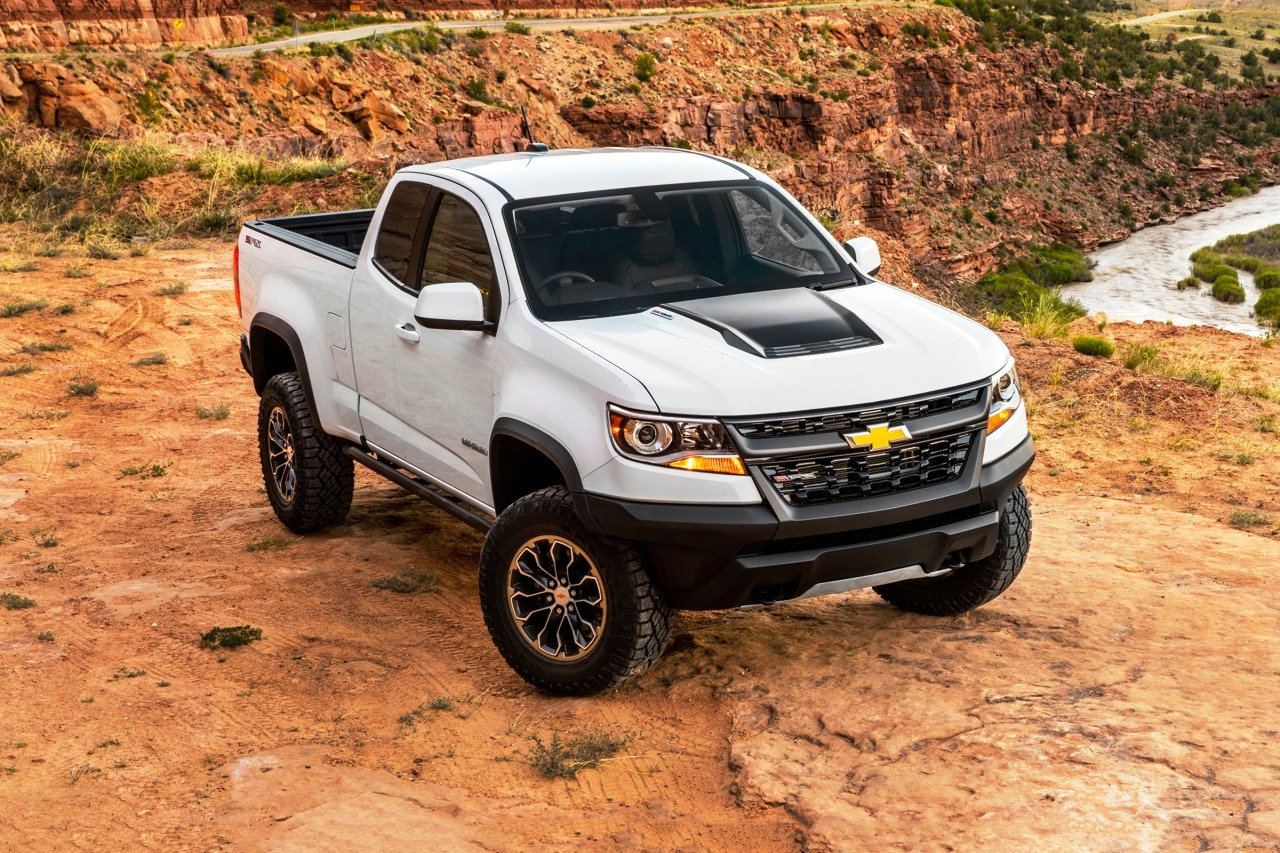 2018 Chevrolet Colorado Zr2 Pickup