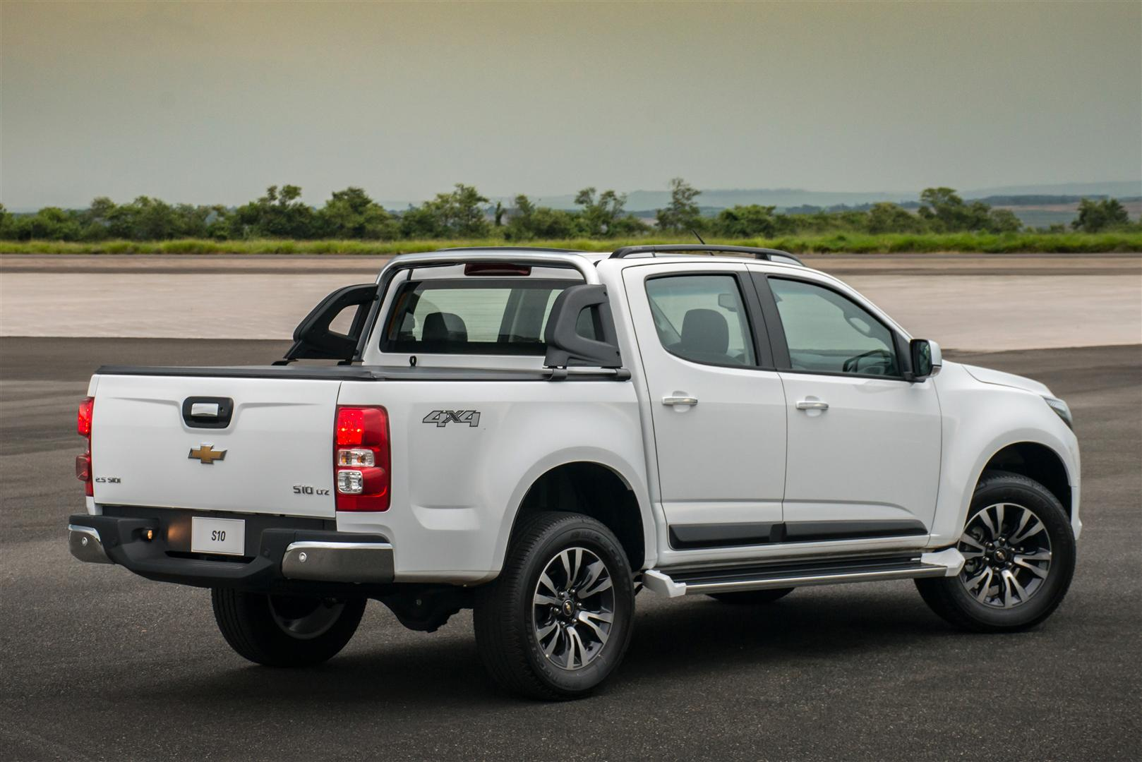 2018 Chevrolet S10 LTZ Towing Capacity