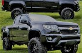 2018 Chevy Colorado 4x4 Manual Transmission