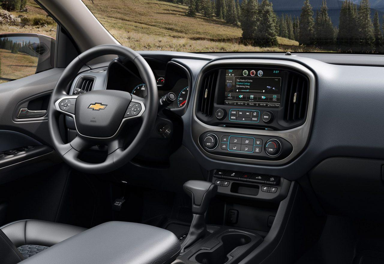2018 Chevy Colorado Crew Cab Interior