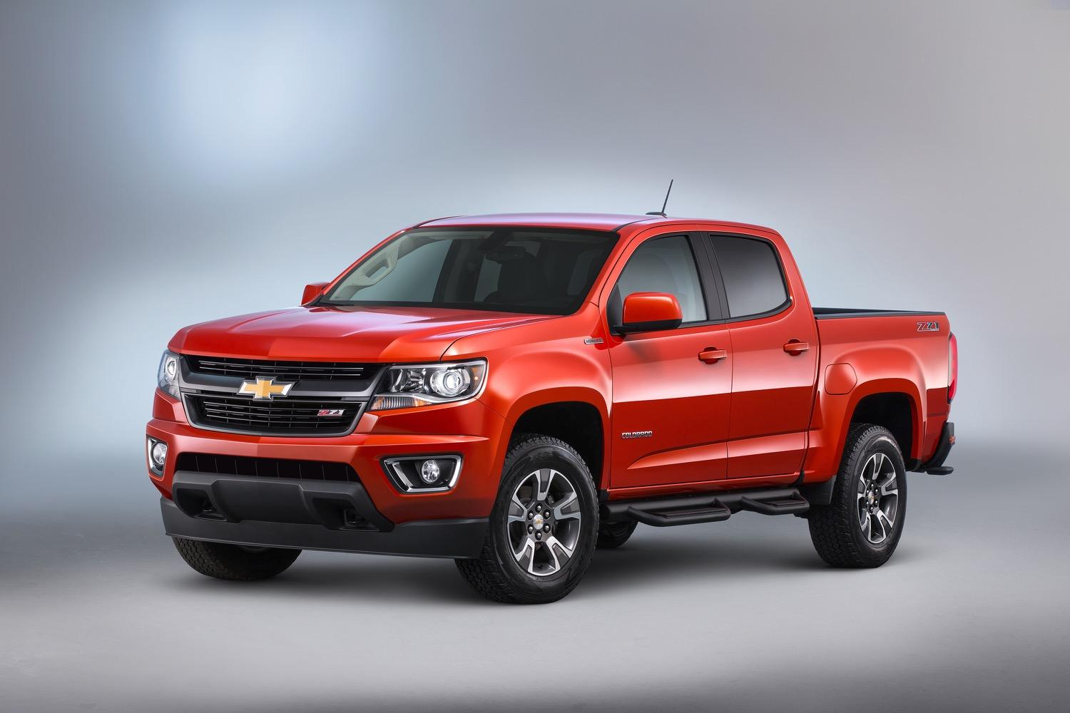 2018 Chevy Colorado Crew Cab Redesign and Changes