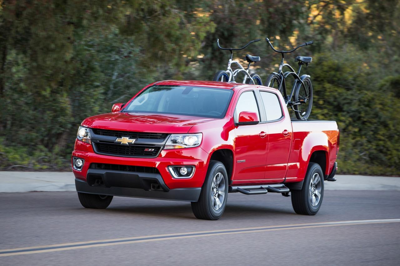 2018 Chevy Colorado Z71 Crew Cab 4x4 With A Short Box