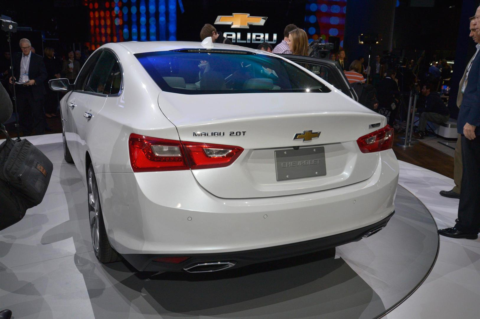 2018 Chevy Malibu Hybrid Color