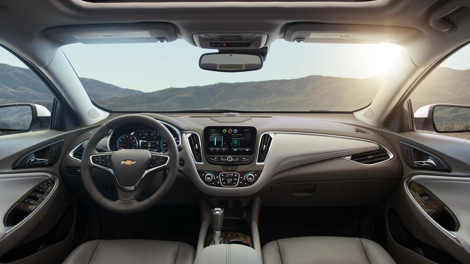2018 Chevy Malibu Hybrid Interior Pictures