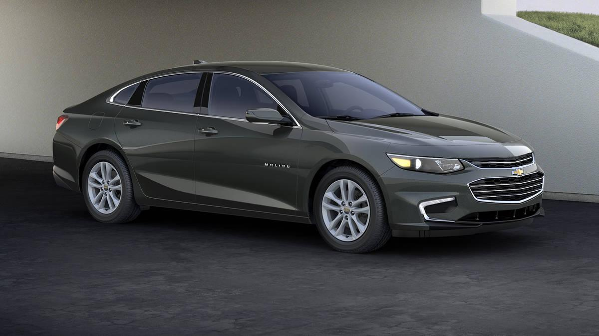 2018 Chevy Malibu Hybrid Rendered
