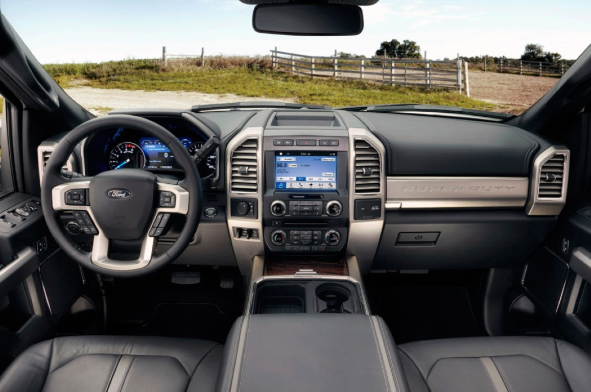 2018 Ford F350 Interior Images