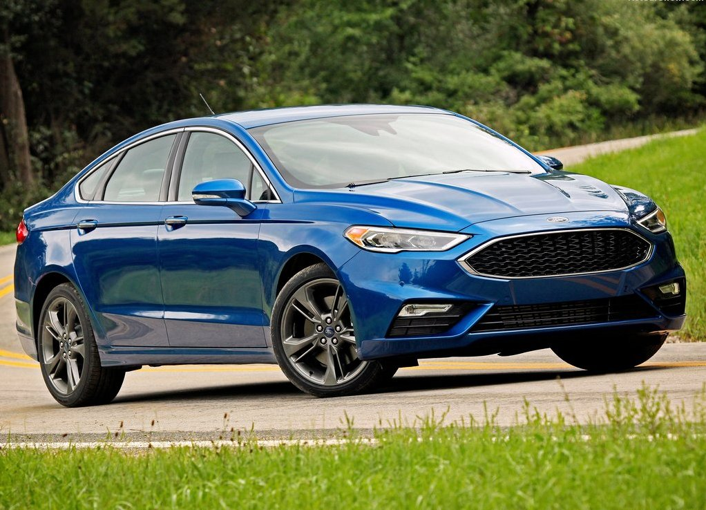 2018 Ford Fusion Blue Metallic