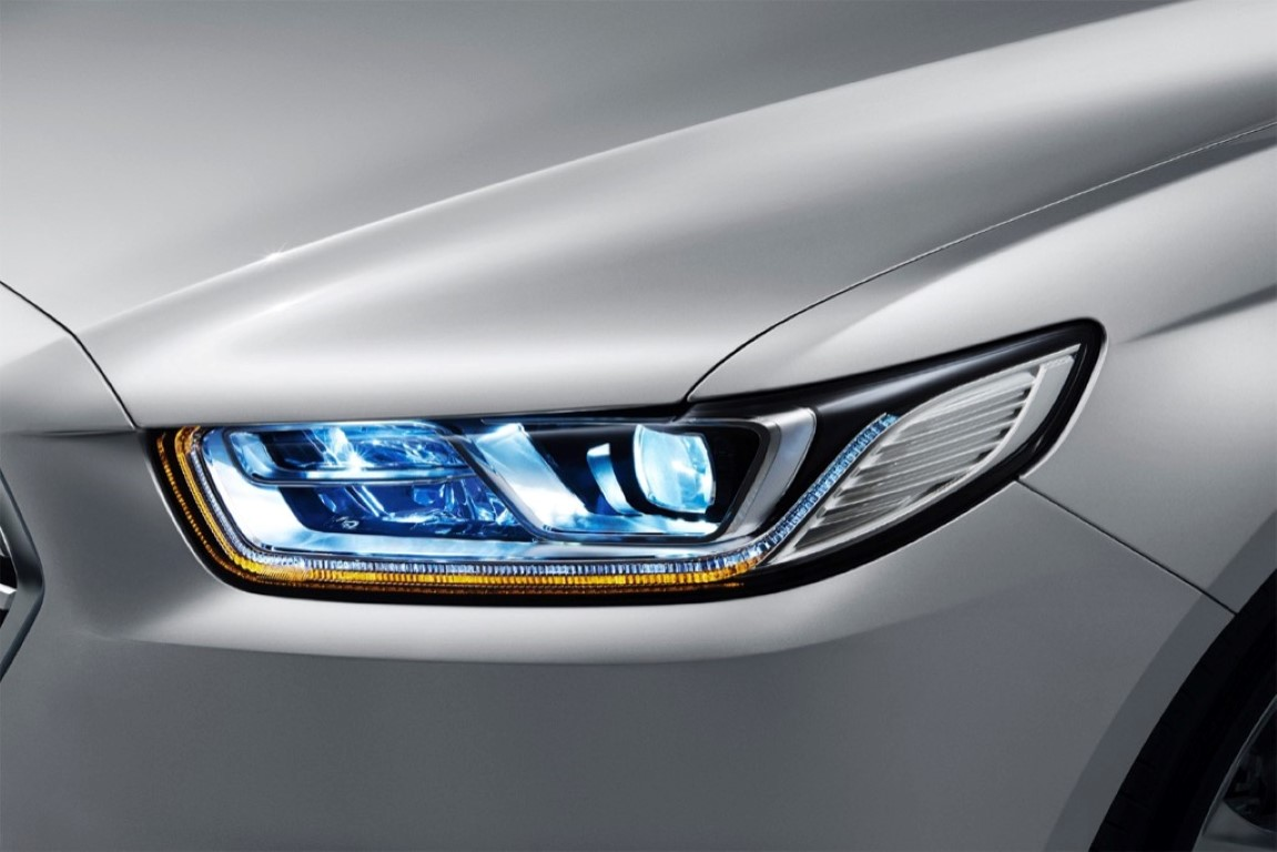 2018 Ford Taurus Colors Colors and Detail headlight