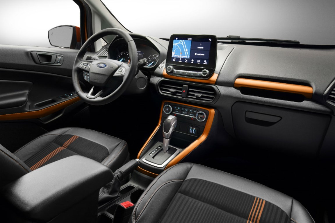 2018 Ford Taurus Interceptor Interior