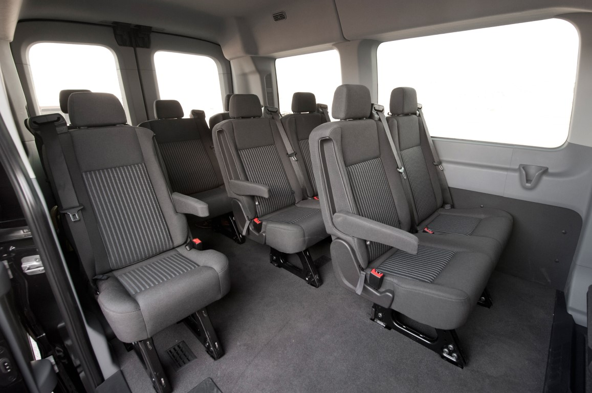 2018 Ford Transit 12 Passenger Van Review