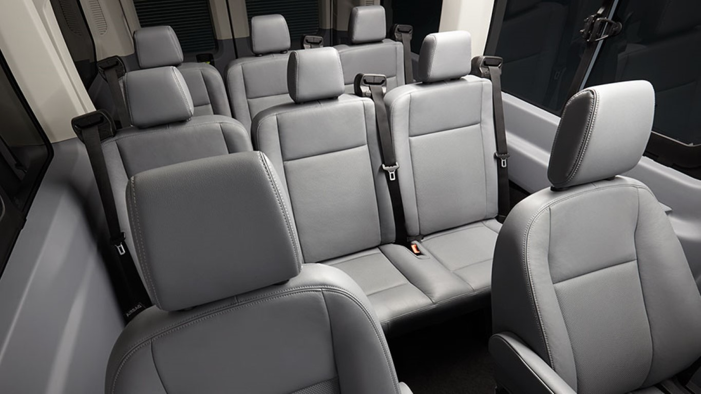 2018 Ford Transit 12 Passenger Van Seating