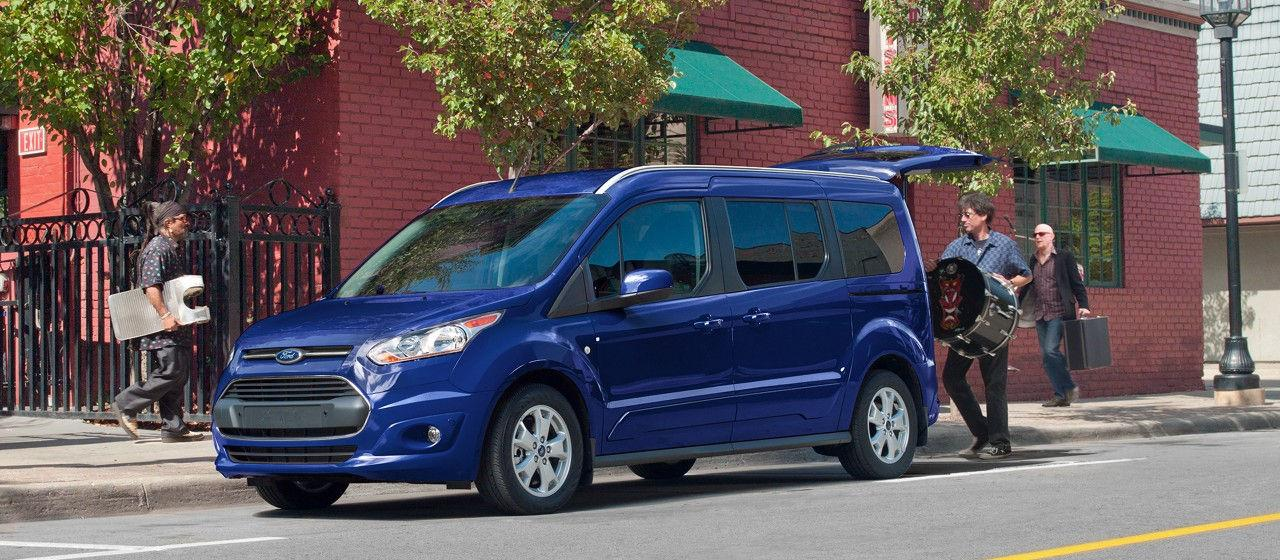 2018 Ford Transit Wagon Specs Blue Color