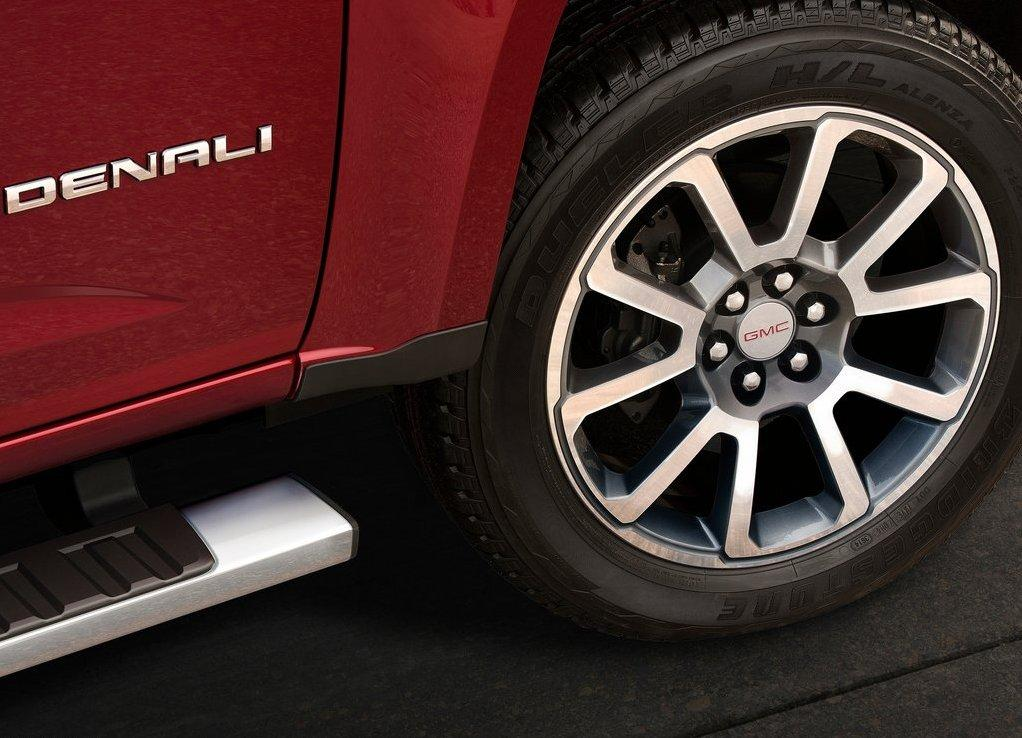2018 GMC Canyon Deanali Wheels Size
