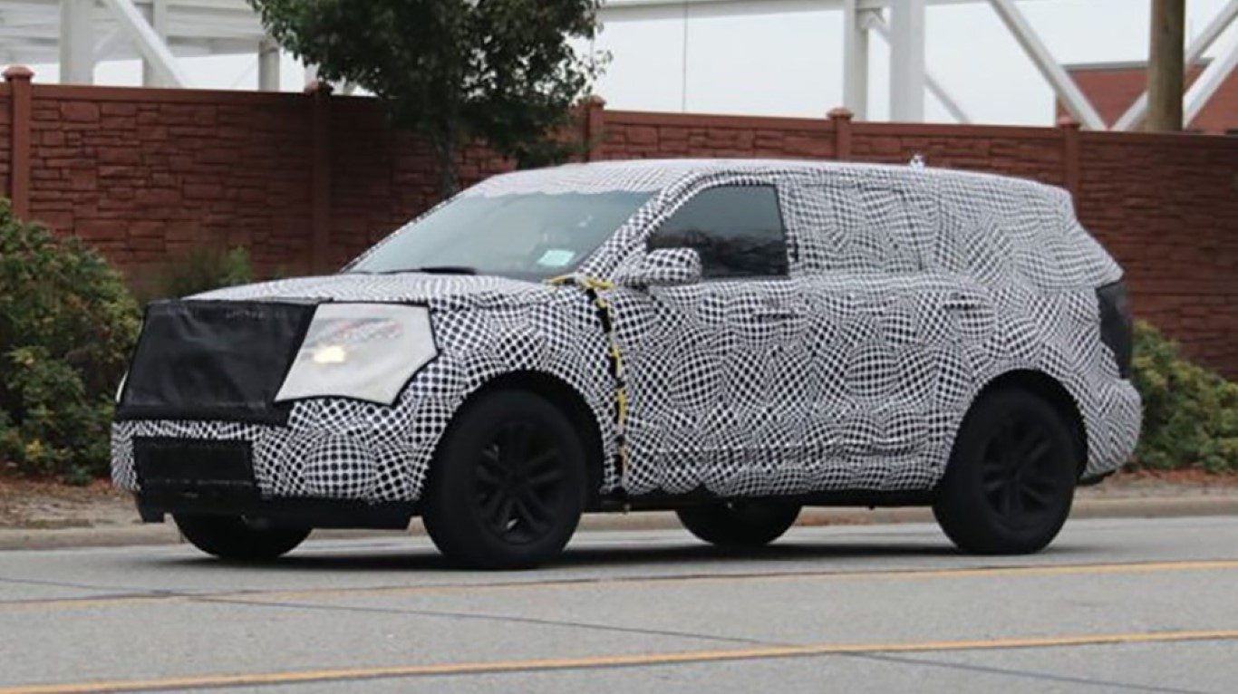 2019 Ford Expedition Spied Pictures