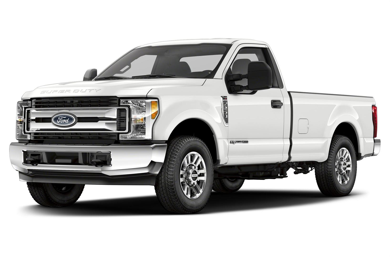 2019 Ford F250 Platinum White Color