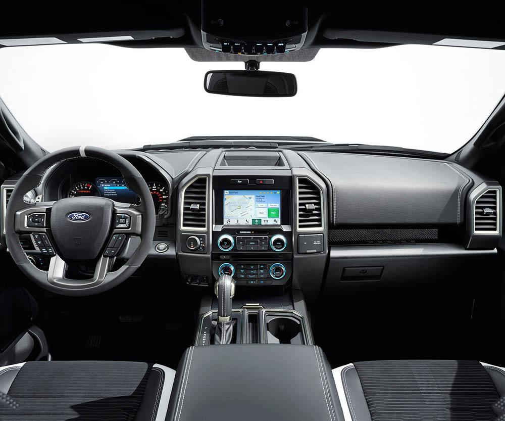 2019 Ford Raptor Crew Cab Interior - Dashboard