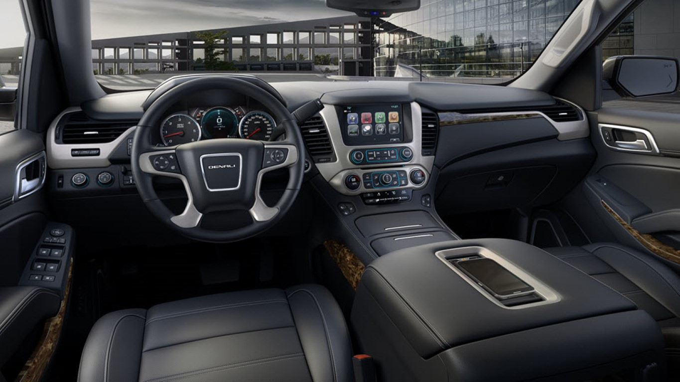 2019 GMC Denali Canyon Interior