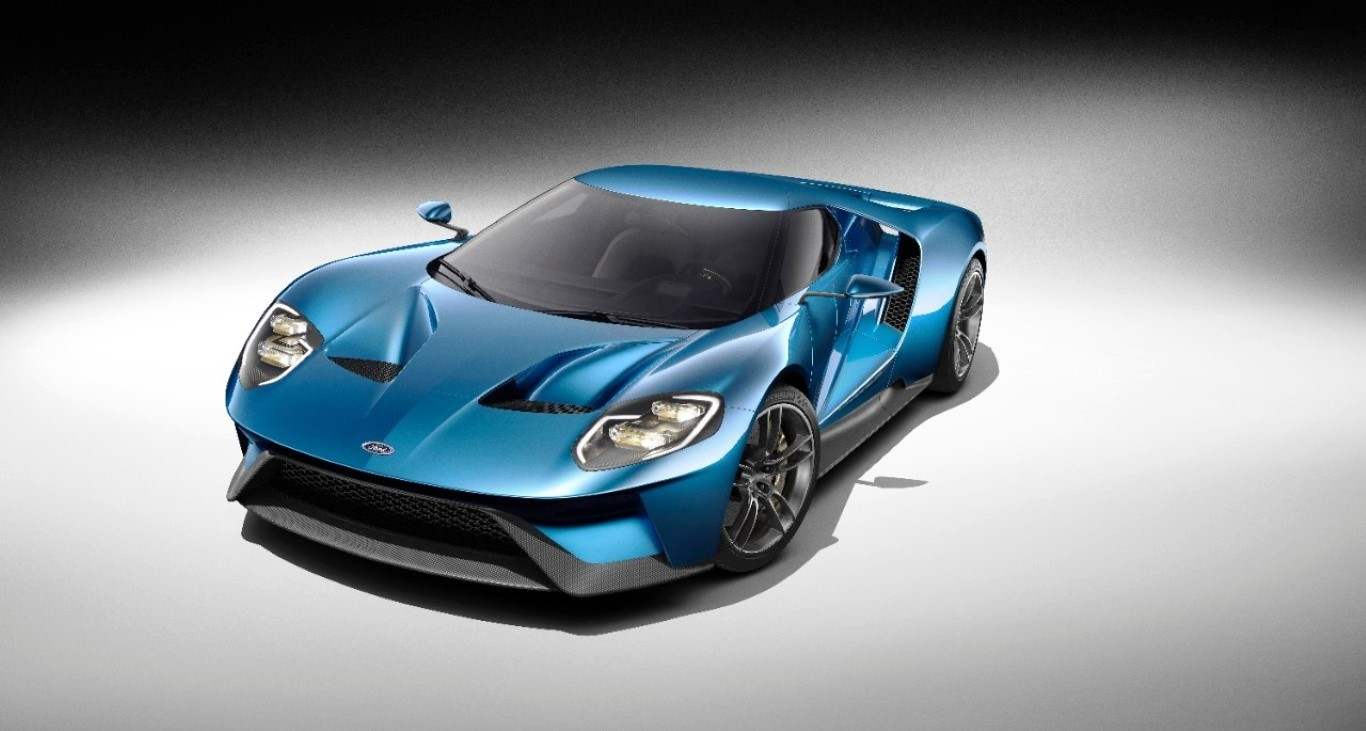 2020 Ford GT Concept New Design