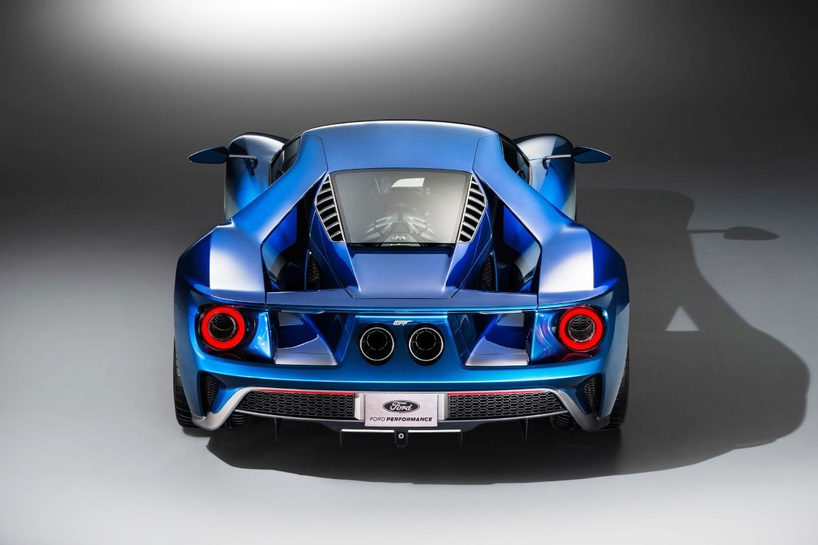 2020 Ford GT Hybrid Engine