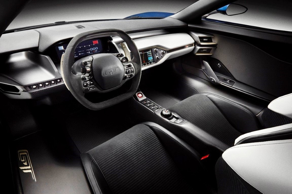 2020 Ford GT Interior Images