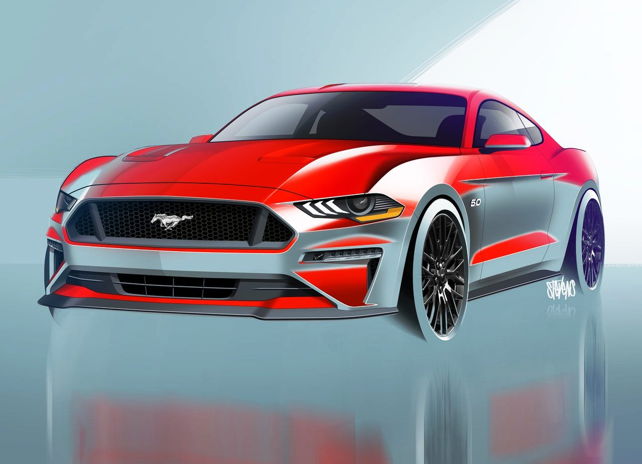 2020 Ford Mustang Gt Concept Release Automotive Car News
