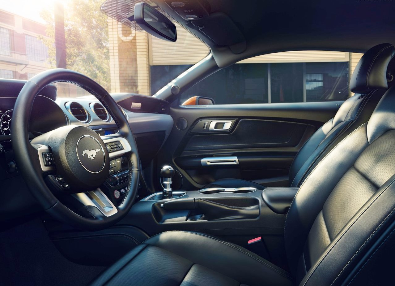 2020 Ford Mustang GT Interior Pictures