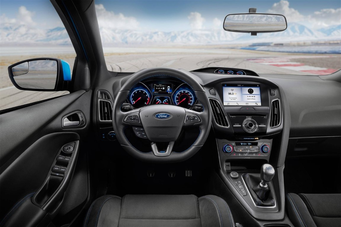 Ford Focus 2019 RS Interior Changes