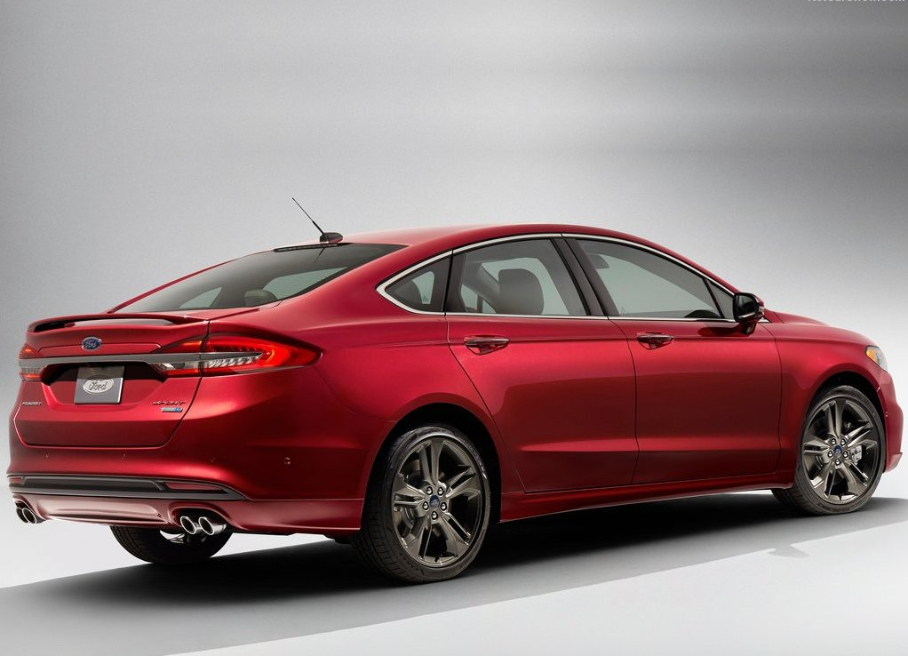Ford Fusion 2019 Dimensions