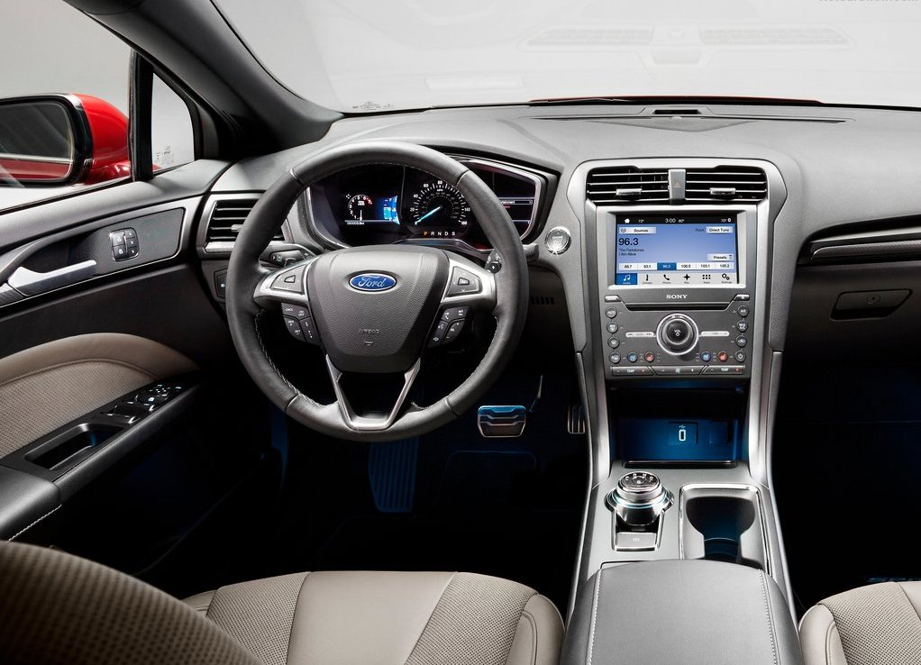 Ford Fusion 2019 Interior Features and Specs