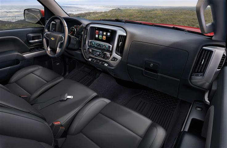 2018 Black Silverado Dashboard Pictures