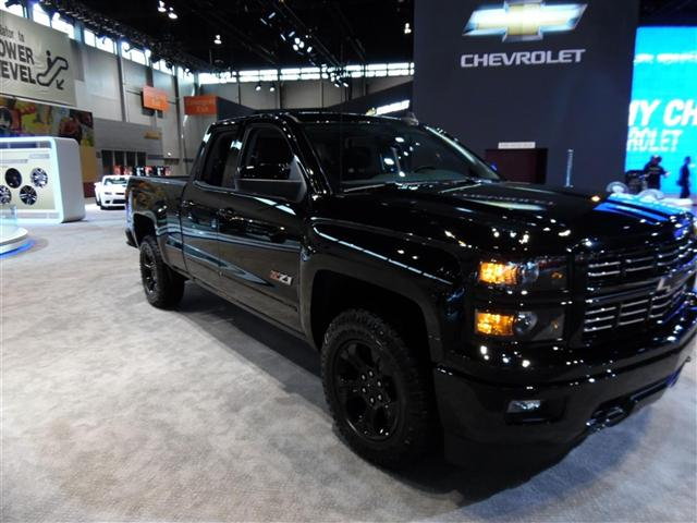 2018 Black Silverado Lifted