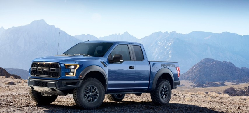 2018 Ford F-150 Raptor Colors