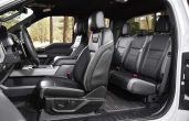 2018 Ford F-150 Raptor Interior Seating With Leather