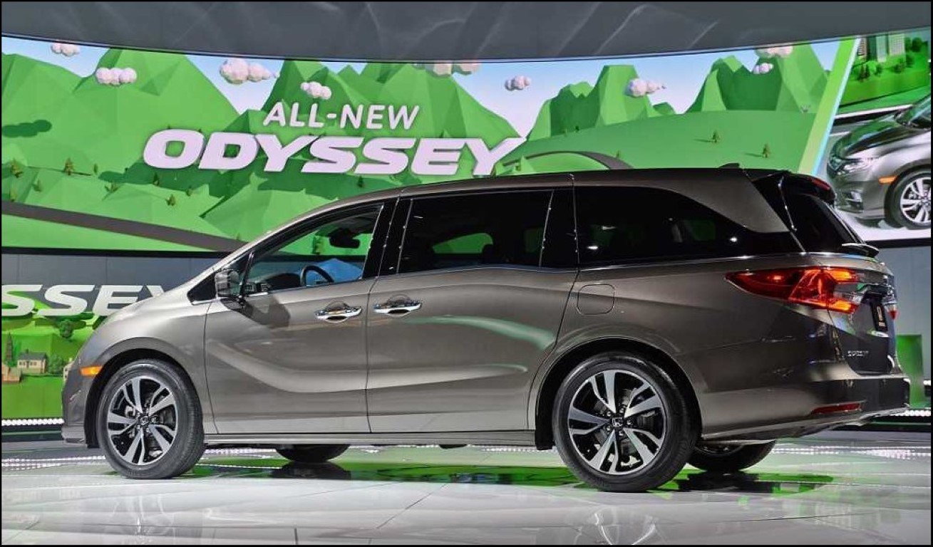 2018 Honda Odyssey Touring Features
