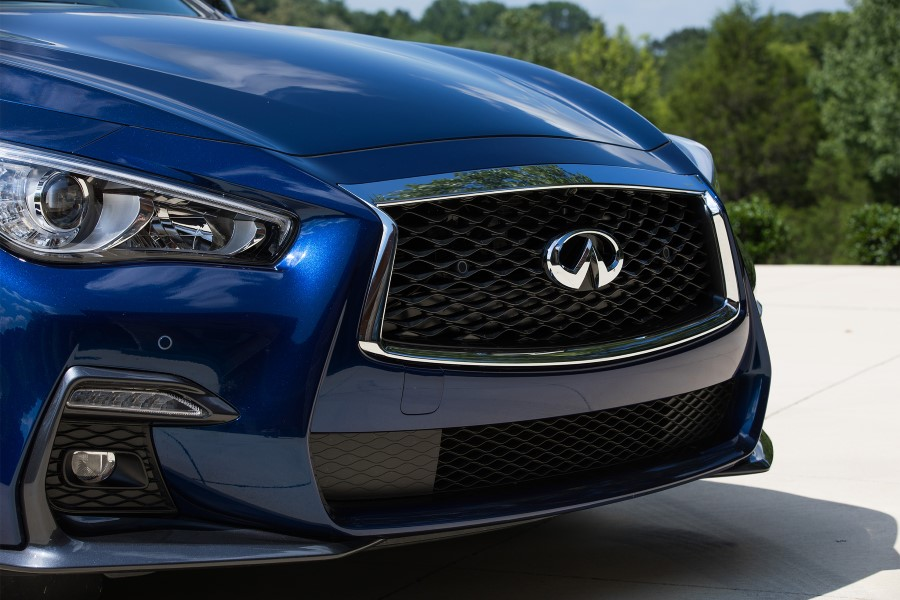 2018 Infiniti G37 Coupe New Grill Blue Color Pictures
