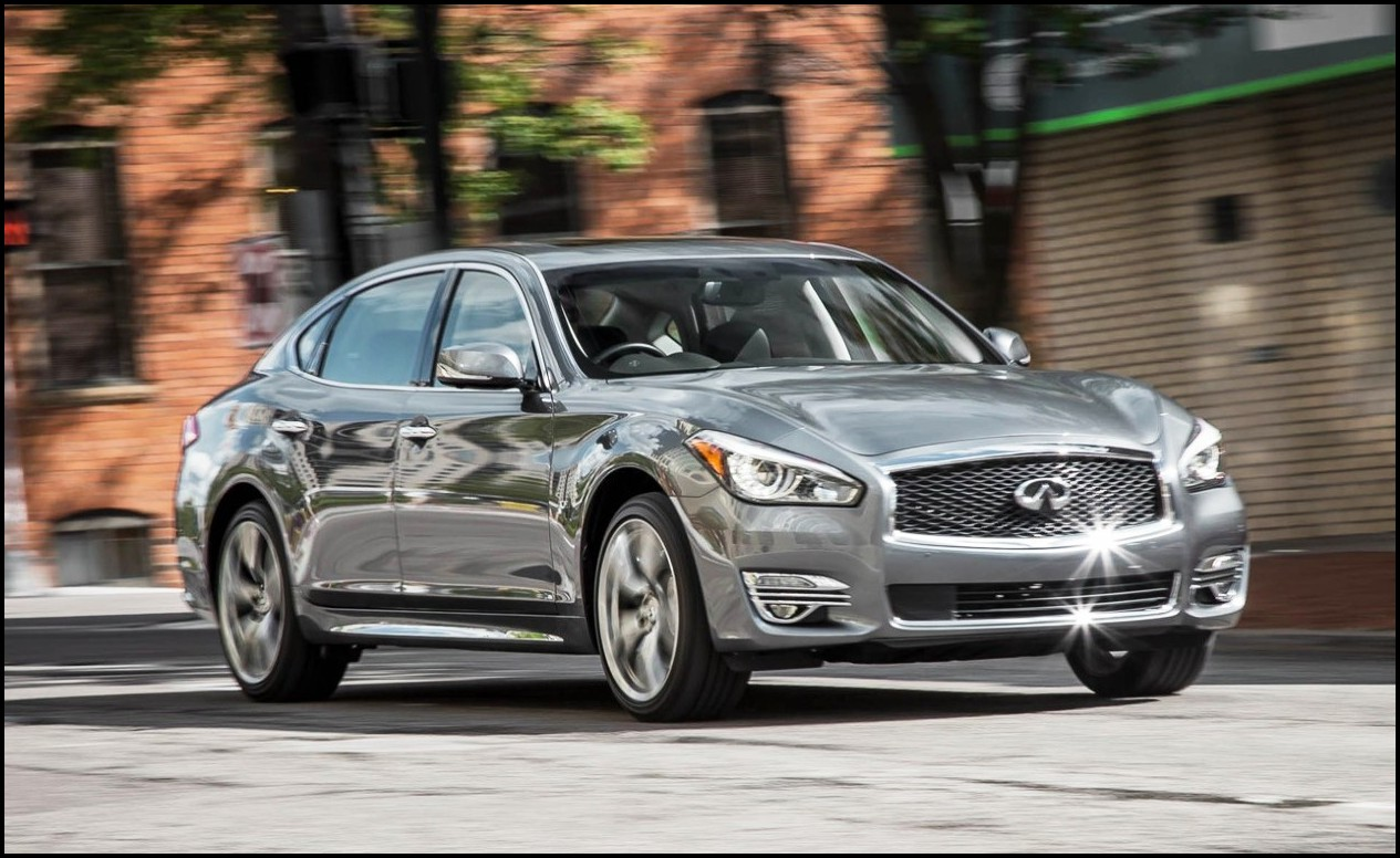 2018 Infiniti Q70 Update Exterior Design Fir New Grill and Fog Light