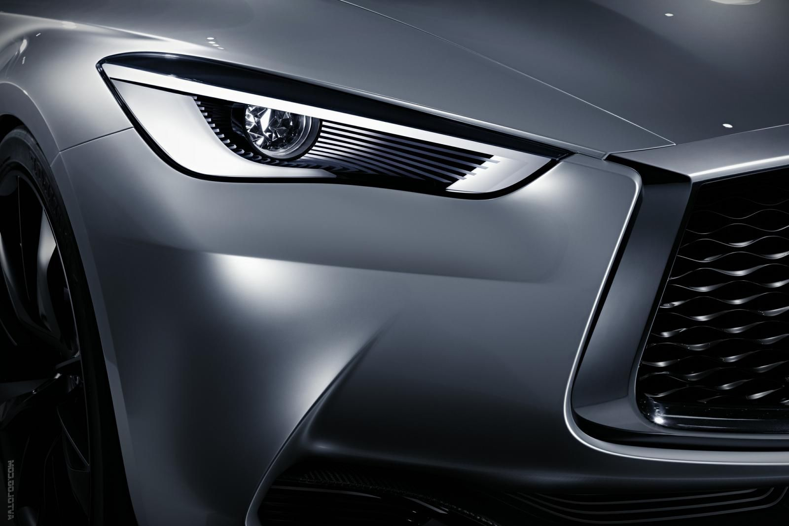 2018 Infiniti QX70 Features Update and New Design Fog Light