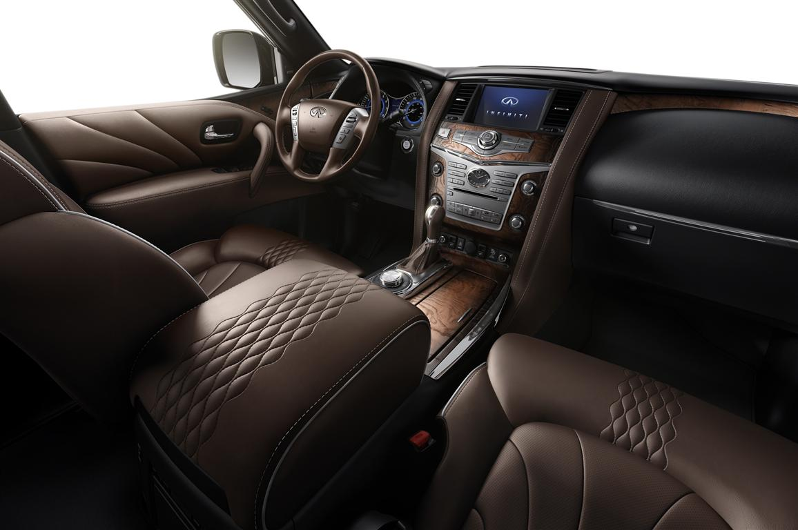 2018 Infiniti QX80 Monograph Interior Photos