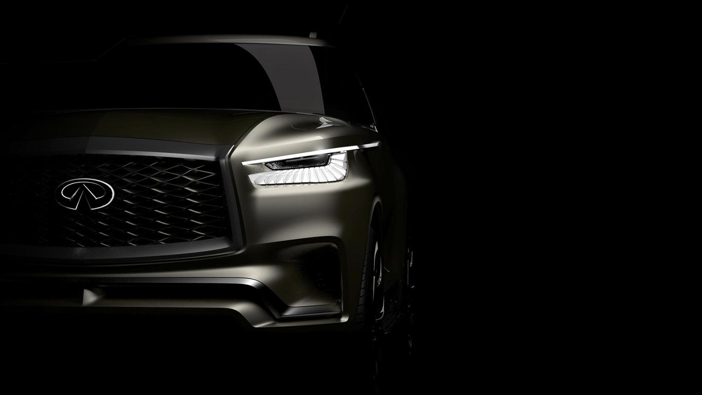 2018 Infiniti QX80 Monograph Releasae Date and Price