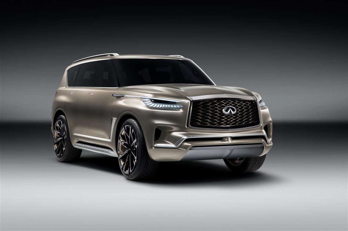 2018 Infiniti QX80 Monograph Specifications