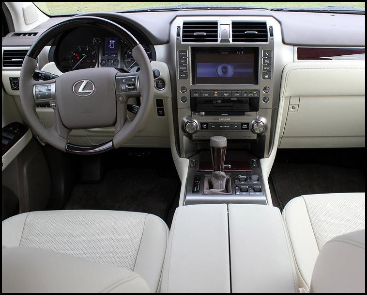 2018 Lexus SUV GX 460 Interior Pictures With Dashboar Update Info