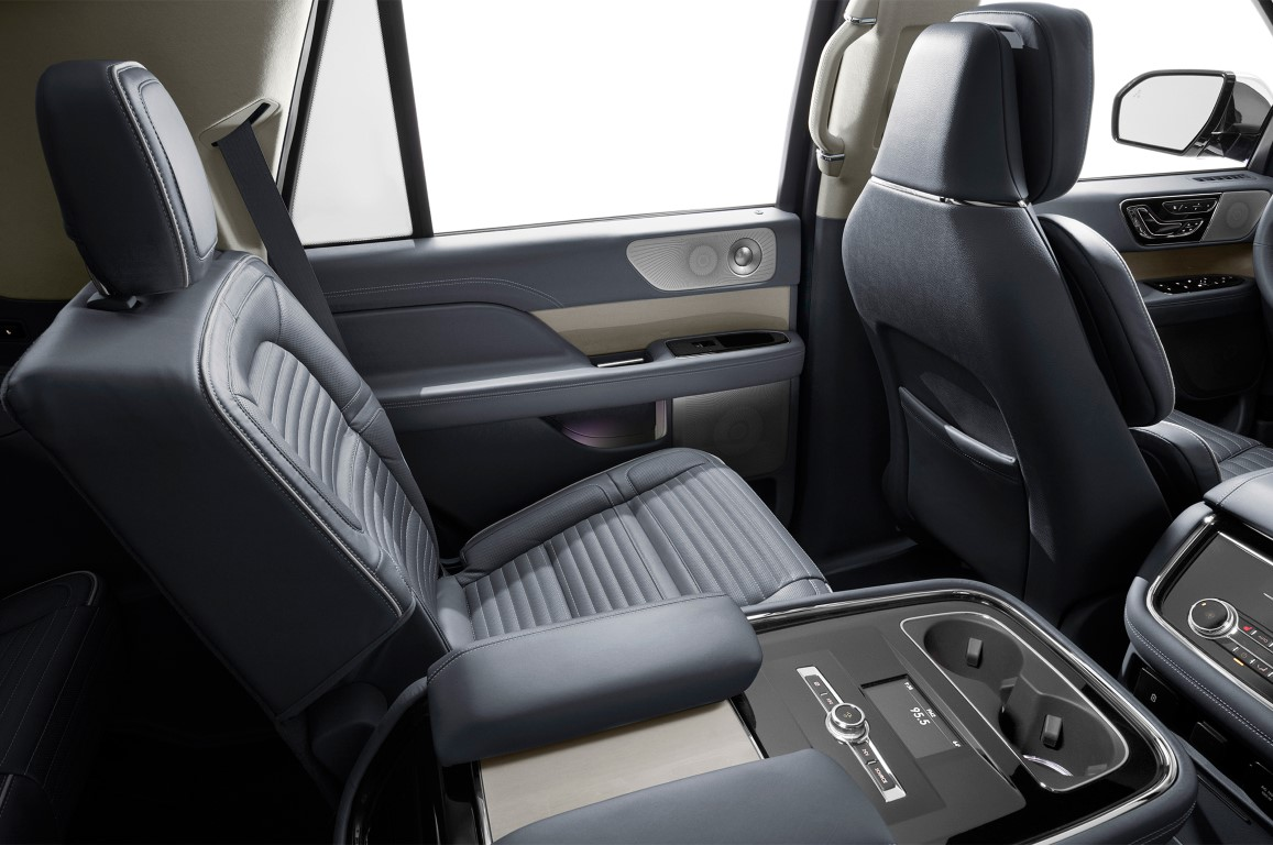 2018 Lincoln MKS Interior Seating Leather Color