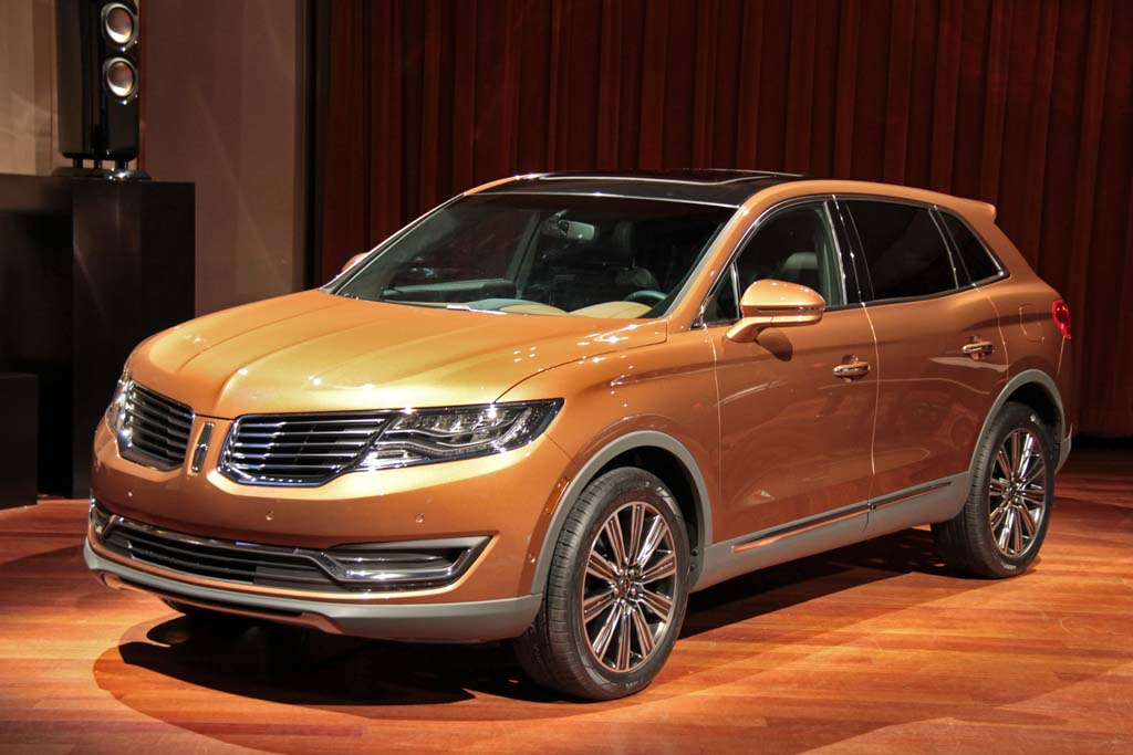 2018 Lincoln MKX Changes with New Color Trims