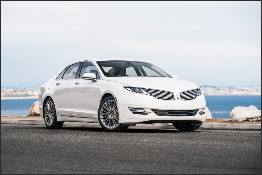 2018 Lincoln MKZ Hybrid White Color Pictures