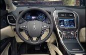 2018 MKZ Lincoln Interior Dashboard With New Features Apple Carplay