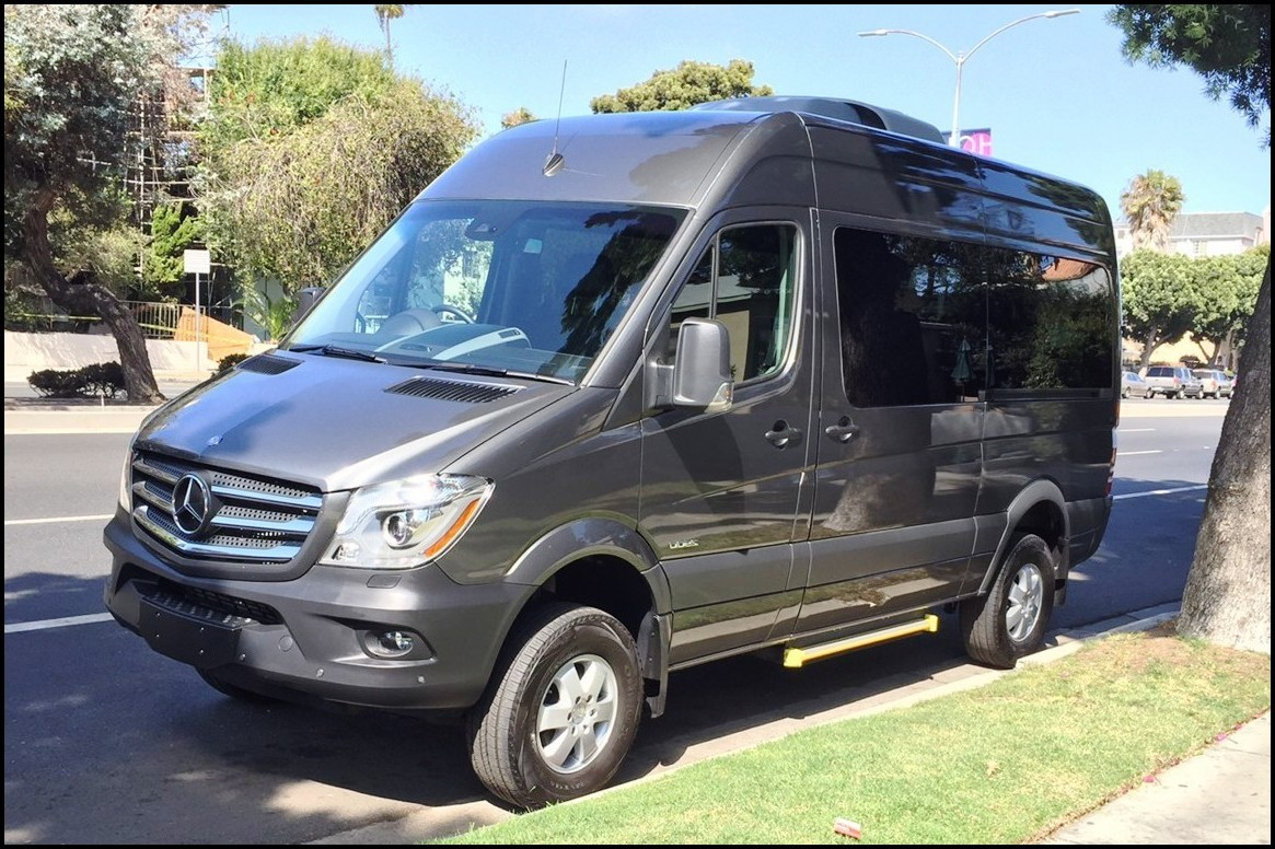 2018 Mercedes Sprinter 4x4 Camper van USA Review