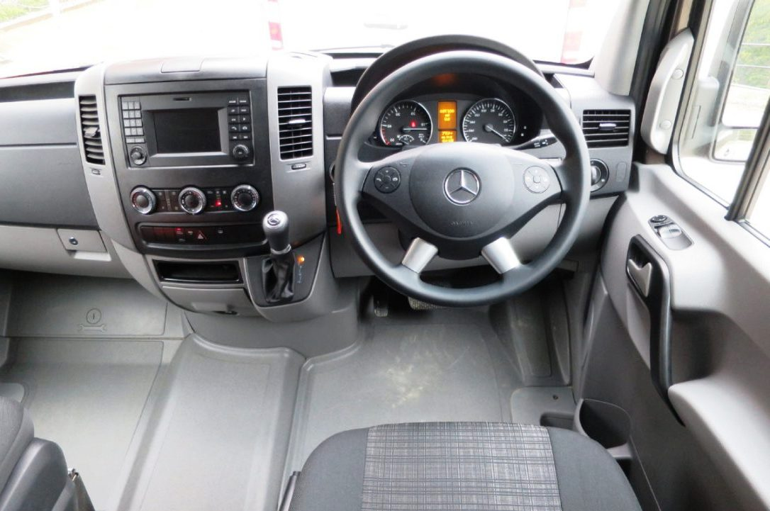 2018 Mercedes Sprinter 4x4 Interior Dashboard Features