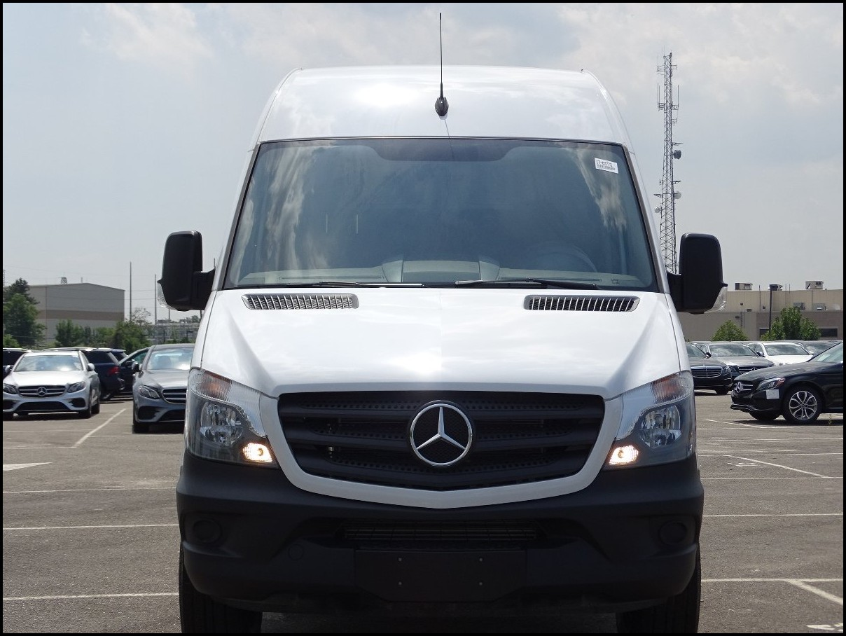 2018 Mercedes Sprinter RV Dimensions